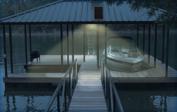 Boat House Solar LED Light Kits
