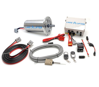 DC 24v C-Face Stainless Steel Motor System - Wireless