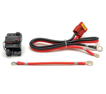 10 AWG Battery Power Cable Assembly + 100A Breaker