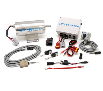 DC 24v Stainless Steel Flat Plate Motor System - Wireless