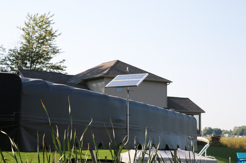Boat Hoist & Boat Lift Solar Charging Kit - 40w-24v