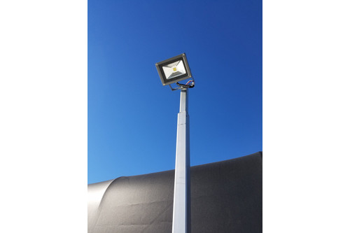 Wireless Key Fob Activated Boat Lift Flood Light