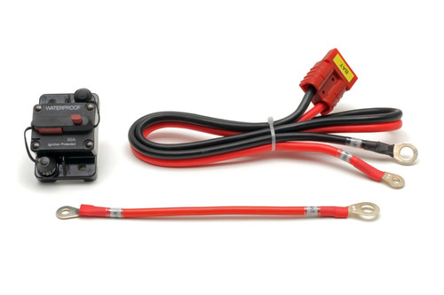 Boat Lift Battery Cable + 50A Breaker