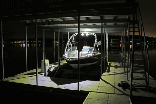 Boat House Solar Add-On Light